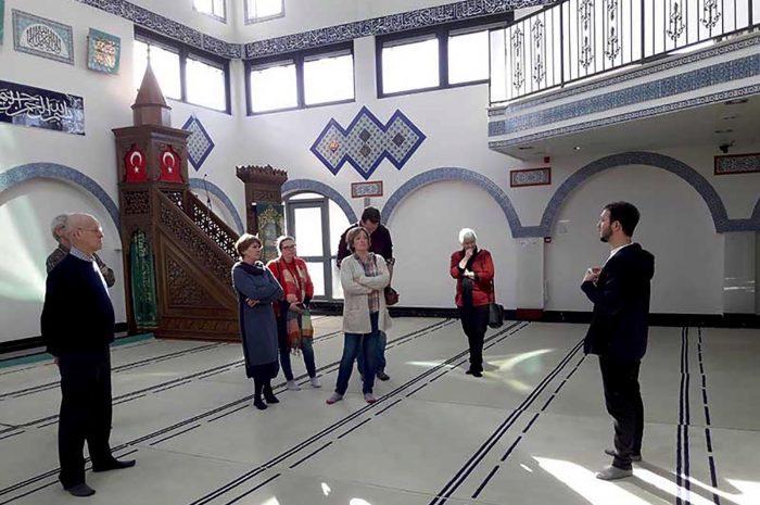 Werkbezoek Selimye moskee Parkwijk