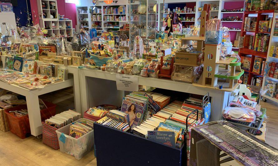 De Speelgoedbank, décadeauwinkel voor verduurzaamd speelgoed